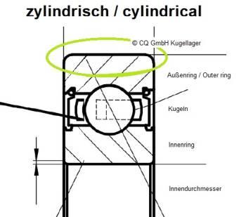 LR207-X-2Z Zeichnung (zylindrisch)